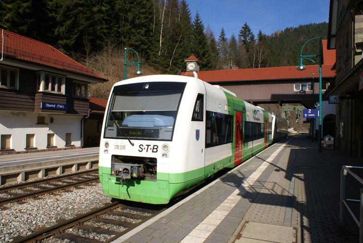 Der Bahnhof bei Oberhof. Foto: Rüdiger Galle