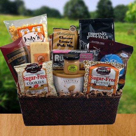97 food gift ideas for diabetics food gift ideas for diabetics diabetic manly munchies sugar free cookiessugar candymen gift basketsgourmet food forumfinder Choice Image