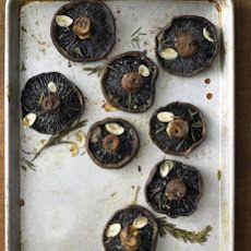 Roasted Portobellos with Rosemary