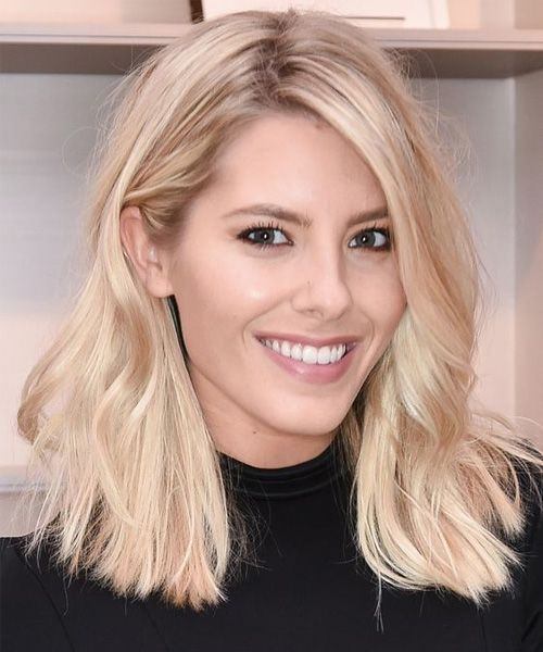 Mid Length Blonde Hairstyles 2017