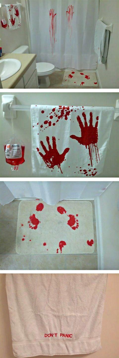 The MURDER Bathroom ... Haunted House DecorationsHalloween ...