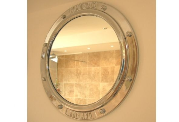 porthole mirrors are available in a cabinet style to both porthole
