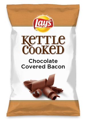 Wouldn T Chocolate Covered Bacon Be Yummy As A Chip Lay S