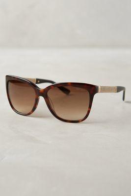 b076c5bc7927d9 Jimmy Choo Cora Sunglasses Brown One Size Eyewear  anthrofave  JimmyChoo