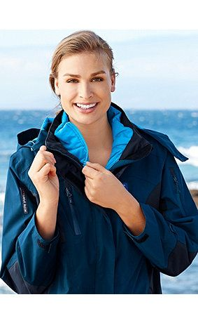 Thermal jacket can be worn individually or zipped into the raincoat from the UP modular system. Wind proof, breathable, lightweight and thermally insulating, providing constant warmth for the whole body, chasing cold away. High collar, zip fastening, 2 zip pockets, long sleeves and power-stretch fabric at the sides for a tighter fit and optimum ventilation and freedom of movement. Fully lined with extremely light taffeta. <br />