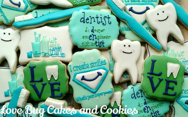 Dentist Cookies: PBP Challenge #9 | Cookie Connection