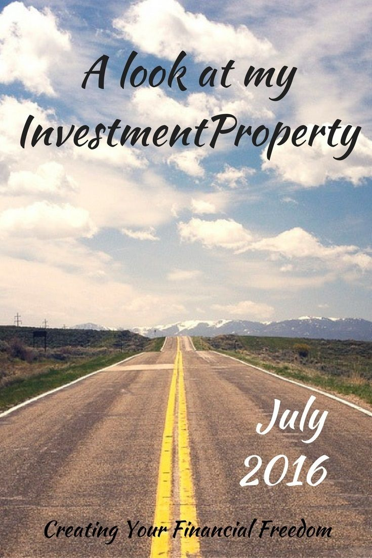 Want to see where my investment property is at today? Take a look! I don't leave any information out. See the specifics.