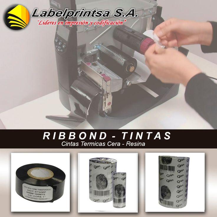 TINTAS RIBBOND QFILM Tintas ribbond de compostura Cera y Resina Premium en toda medida para todo tipo de impresora térmica.  LABELPRINTSA, S.A. Fabrica de todo tipo de etiquetas adhesivas y codificación, Venta de máquinas etiquetadoras e impresión térmica. www.labelprintec.com 0996310326 - 0996310328