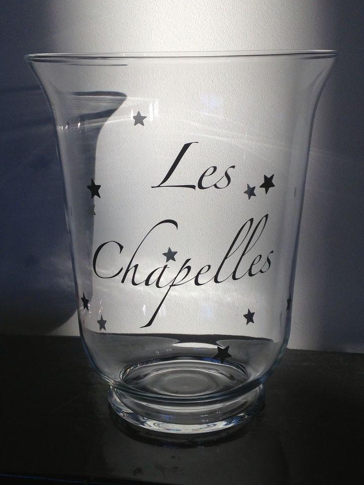 Photophore personnalisable une étoile m'a dit. Pour commander page Facebook ou mail à uneetoilemadit@hotmail.fr
