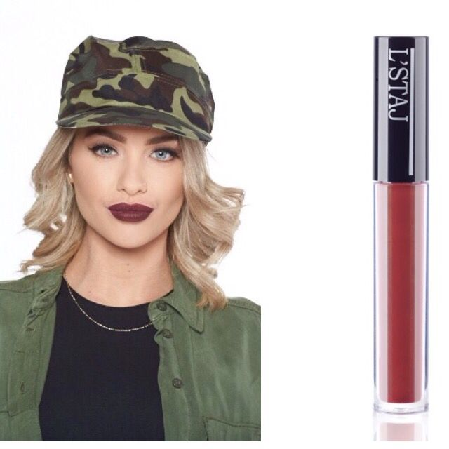 New L'STAJ liquid matte lipstick.. Lady Seductive coming soon