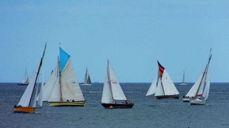 Falmouth Working Boats ~ Falmouth Bay ~ Henri Lloyd Falmouth Week 2013