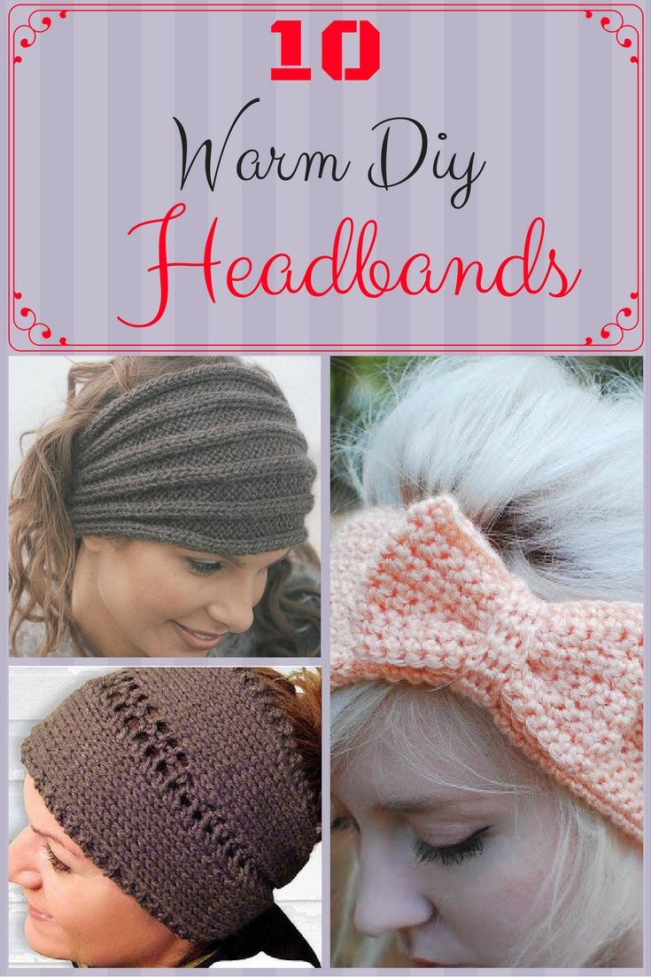 The cold weather is coming, so if you cannot stand to wear a hat, you should wear even a headband. That if you do not want to freeze completely. And to make your day more beautiful, we come and bring you ten ideas on how to make your headband a warm and beautiful accessory. Making it yourself will make you feel even more proud.
