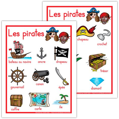 Affiches, les pirates