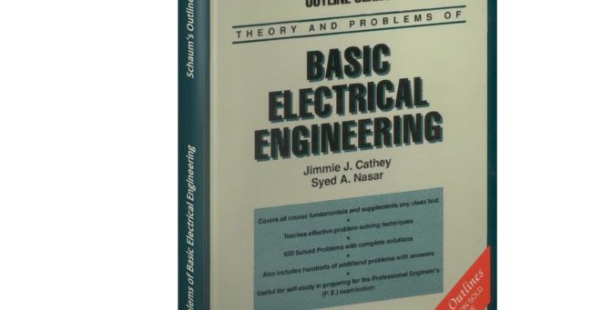 Theory and Problems of Basic Electrical Engineering - Schaum's Outline Series   Download Free DJVU Schaum's Outline of Basic Electrical Engineering byJimmie J. Cathey Syed A. Nasar  Students will quickly understand the popularity of this helpful sourcebook--the first edition sold 46000 copies! The chief emphasis is on solving realistic problems hundreds of which are included with detailed solutions. This popular study guide concisely yet clearly covers all the areas taught in two-semester…