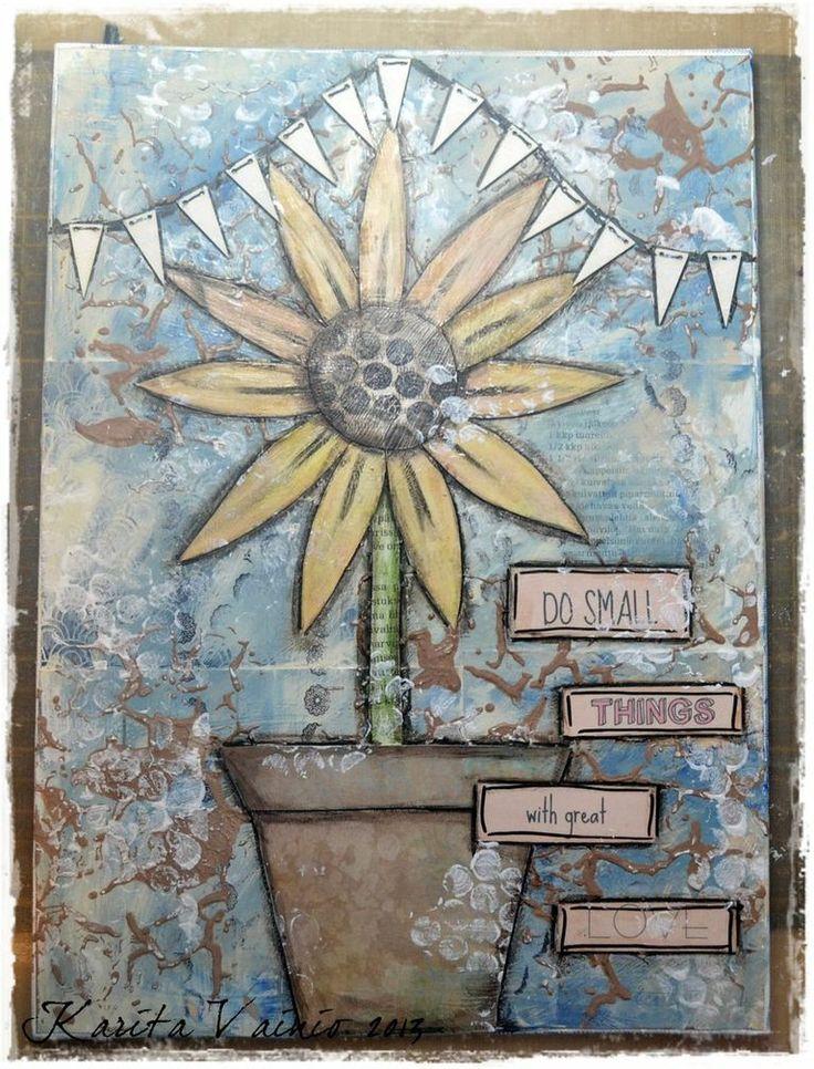 Mixed media canvas canvas art ideas pinterest mixed for Mixed media canvas art ideas