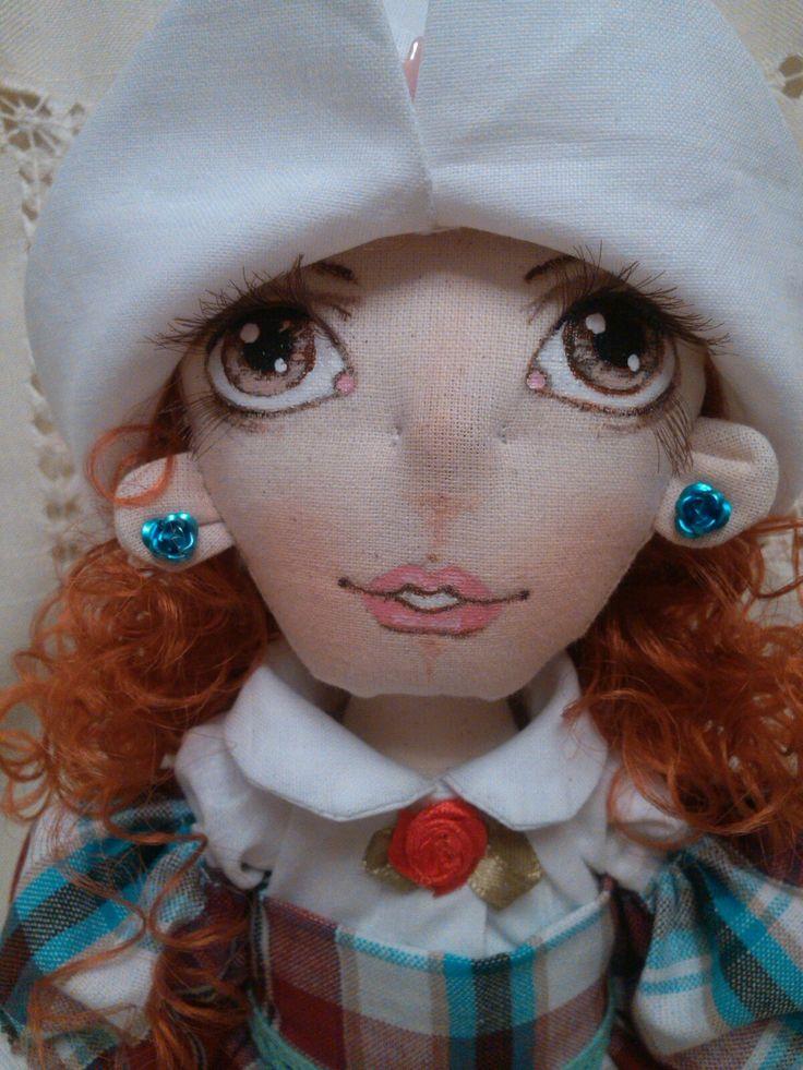 Федорины куклы#ручная работа#текстильная кукла# Ассоль#50 см радости