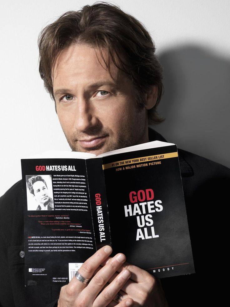 Hank Moody - you have to give it to him for being such an eccentric character who still has charm!