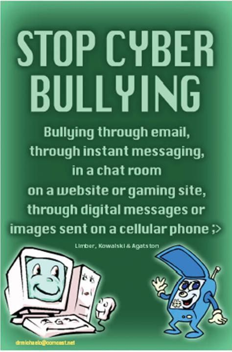 Stop Bullying | Safety Signs for Our Children | No Cyberbullying Posters | Buy Online |AntiBullying Sign
