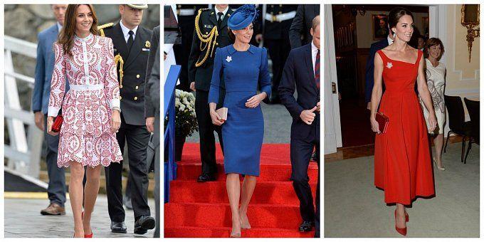 Britská královská rodina v Kanadě: Kate zastínila budoucího krále