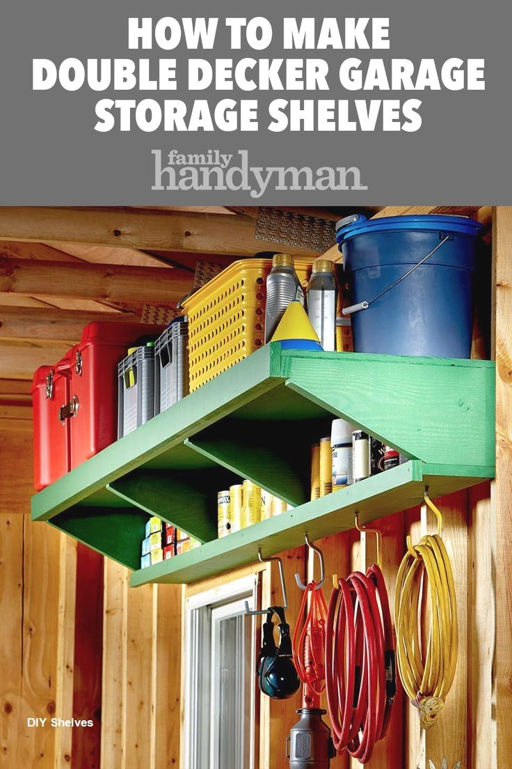 Garage Storage Shelves Diy