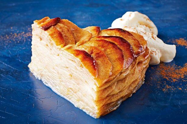 thousand layer apple tart