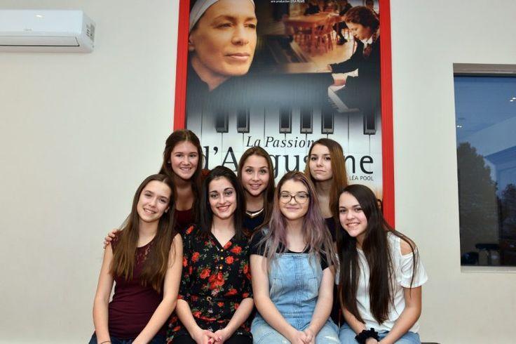 Les jeunes actrices de la Passions d'Augustine