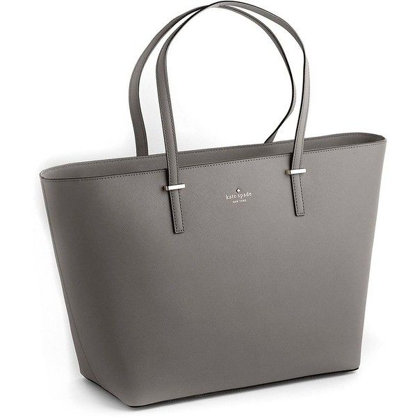 Kate Spade New York Cedar Street Medium Harmony Leather Tote Bag ($179) ❤ liked on Polyvore