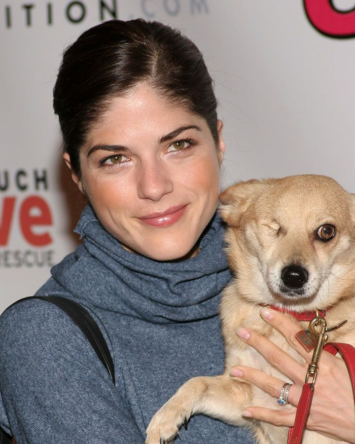 Best Celebs Their Dogs Images On Pinterest Celebrities - Cute portraits baby and rescue dog