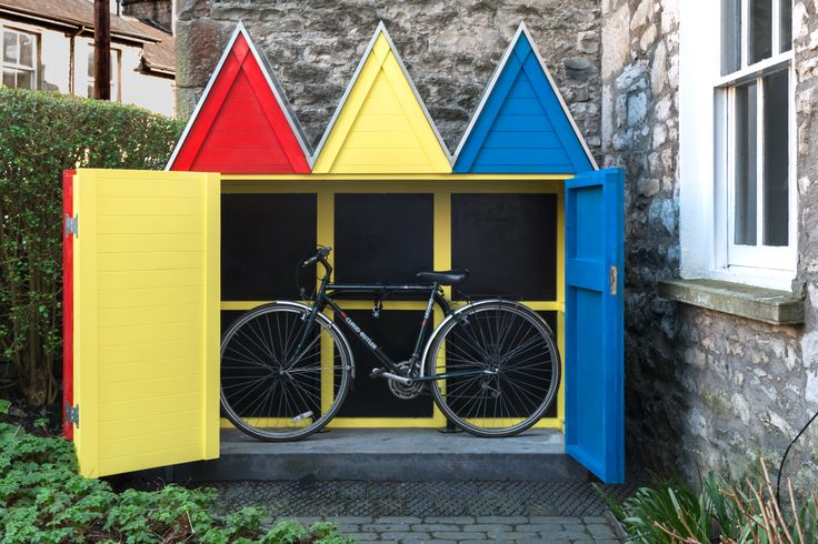 'Bicycle Shed Beach Huts', Cumbria- O'Neil Associates, Childs & Co, James Latham