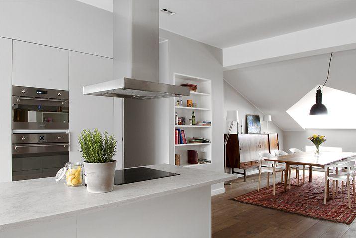 Valkoinen harmaja sivu 7 kitchen pinterest for 7 x 9 kitchen design