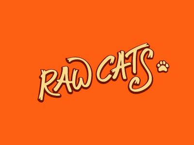 Raw Cats logo by Alexandr Ivanov