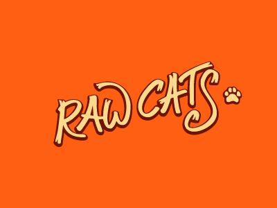 Raw Cats logo by Alexandr Ivanov