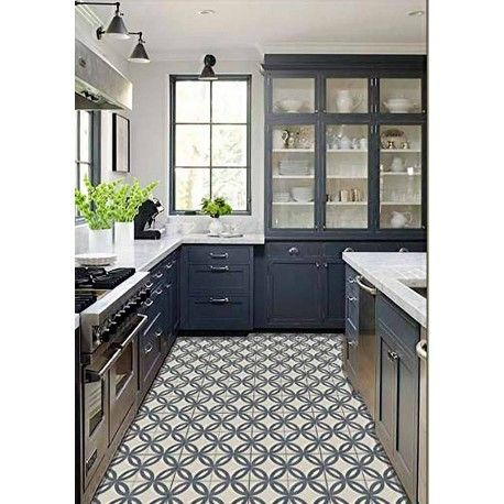 carrelage imitation carreau ciment sol et mur 20 x 20 cm ne0108022 on the floor pinterest. Black Bedroom Furniture Sets. Home Design Ideas