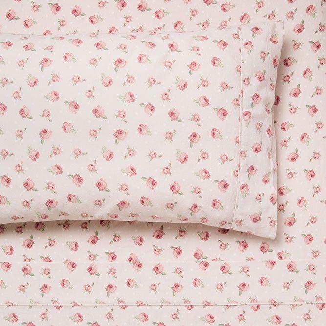 Megan Flannelette Sheet Set | Temple & Webster