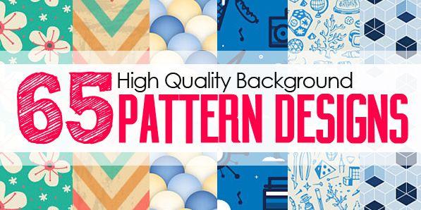 Background Pattern Designs: 65 Seamless Patterns For Websites Background #patterndesign #photoshoppattern #seamlesspattern