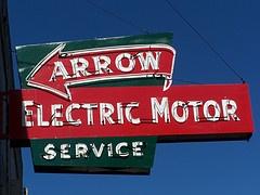 Vintage Neon Sign - Fresno, Ca