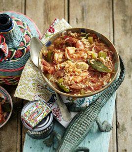 Südstaaten-Küche: Jambalaya
