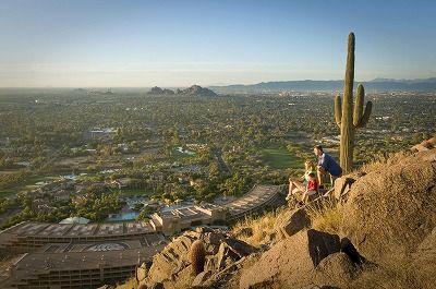 壮大な自然を思い存分楽しめる。アリゾナ州フェニックスの名所