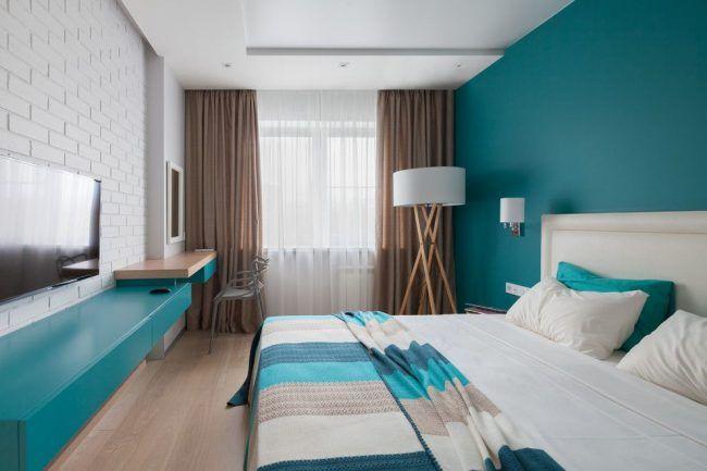 Интерьер спальни в пляжном стиле