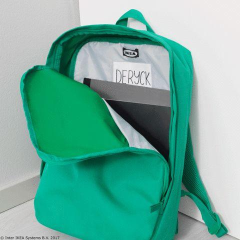 În zilele în care ai puțin bagaj, nu este necesar să folosești întregul rucsac STARTTID. Poți lua cu tine doar sacul din interiorul lui.