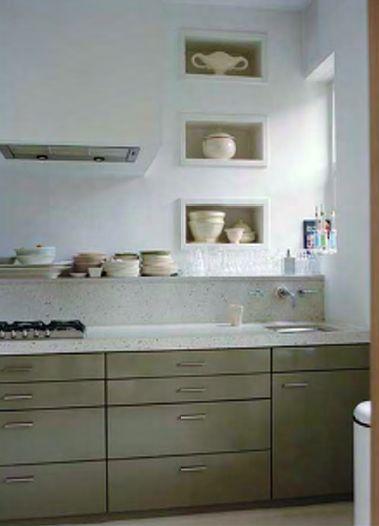 Keuken Olijfgroen : Pinterest – Cr?mekleurige Keukens, Keukenkast Kleuren en Keukenkasten