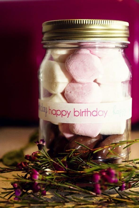 Happy Birthday Goodie Jar