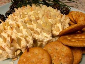 Pinecone Cheese Spread