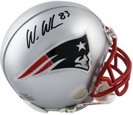 Wes Welker New England Patriots Autographed Riddell Mini Helmet – Fanatics Authentic Certified – Autographed NFL Mini Helmets