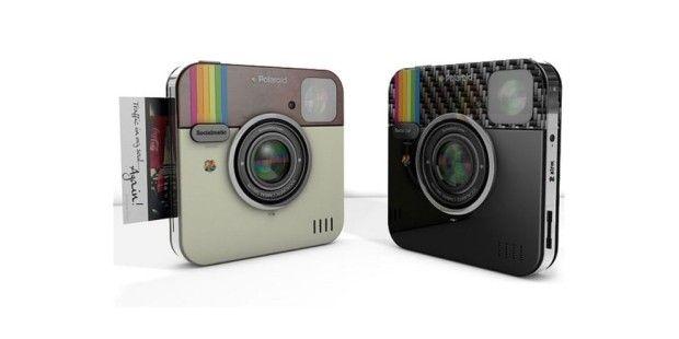 Die Polaroid von Socialmatic bietet einen integrierten Drucker