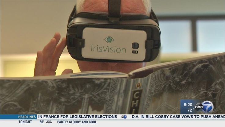 Iris Vision is a wearable device that allows those with low vision to see the world like they've never seen it before.