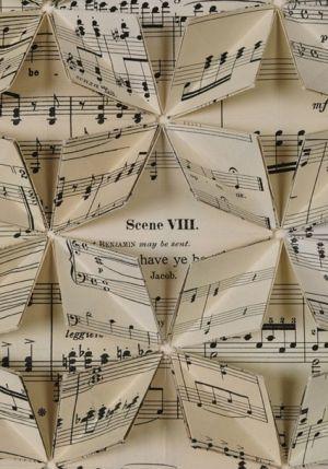 music sheet by Cathy Sunderland