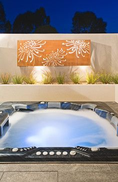 Outdoor Wall Art Design Ideas, Pictures, Remodel and Decor