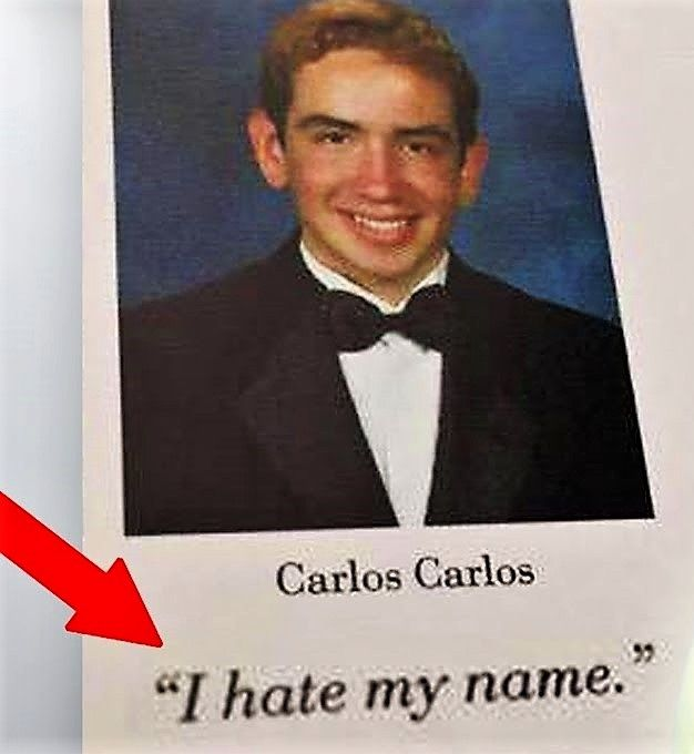 carlos carlos funny senior pictures funny yearbook quotes