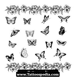 Butterfly Tattoos Tattoo Design 55
